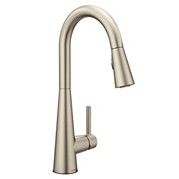 Moen 7864srs Sleek One Handle High Arc Pulldown Kitchen Faucet