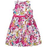szshohxw Girls Summer Dress Girl Cotton Dresses Fashion Clothes Size 5,6,8,10,12