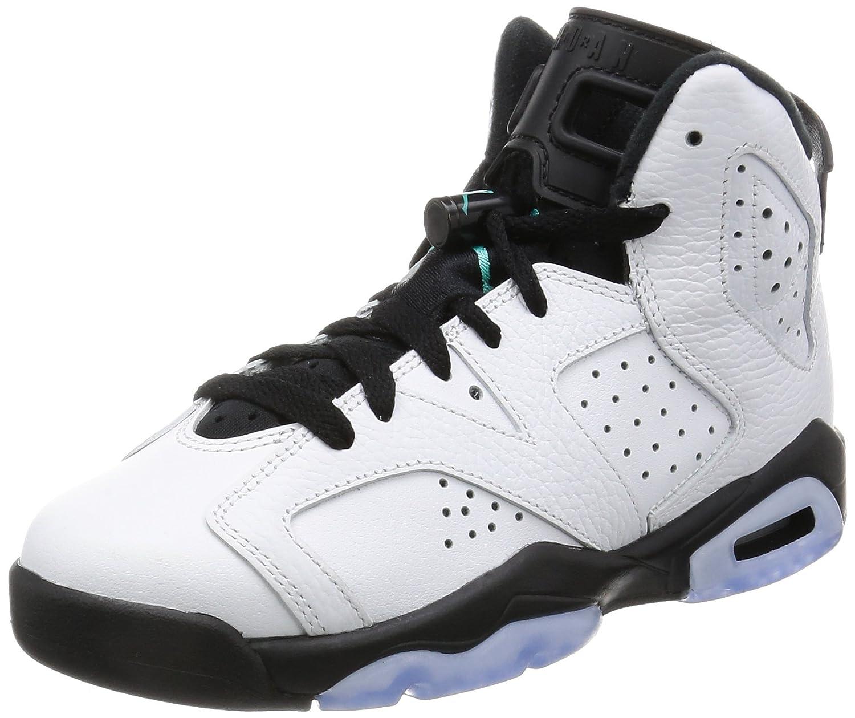 fa89c2d68eb8cd AIR JORDAN Retro 6 BG (GS)  Hyper Jade  - 384665-122 - 4 - US Size   Amazon.co.uk  Shoes   Bags