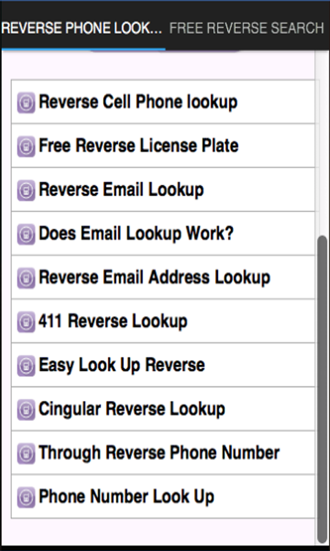 reverse phone lookup text free
