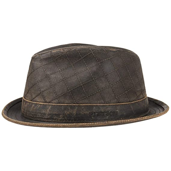 1b9269ec416 Stetson Stitches Old Cotton Player Hat Sun  Amazon.co.uk  Clothing