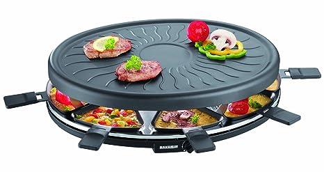 Parrilla de fiesta SEVERIN raclette, aprox.1100 W, incl. 8 sartenes, RG 2681