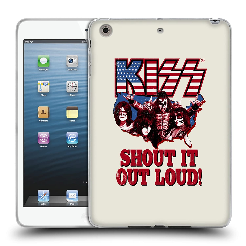 Amazon com: Official Kiss Band Shout It Loud! Lyrics Soft Gel Case