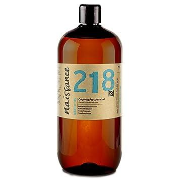 Naissance Aceite Vegetal de Coco Fraccionado n. º 218 – 1 Litro - Puro,