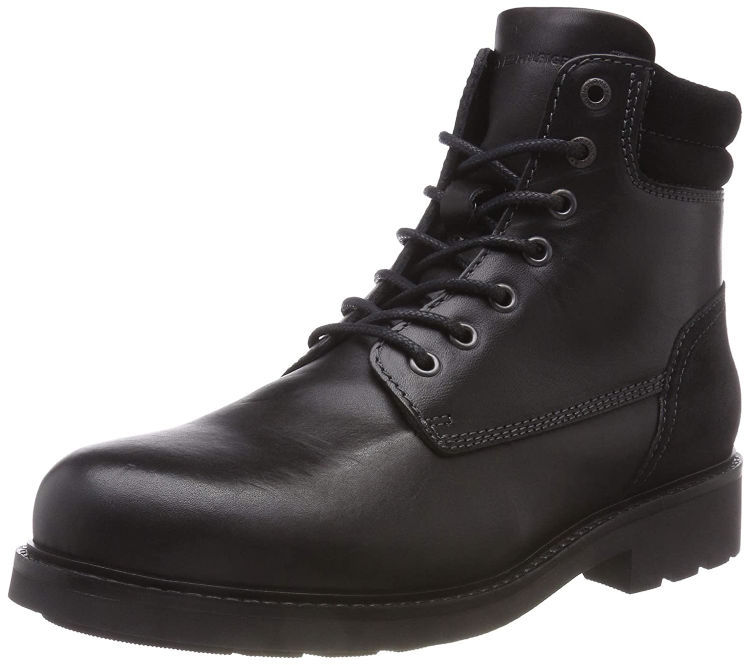 Tommy Hilfiger Active Leather Boot, Botas Militar para Hombre