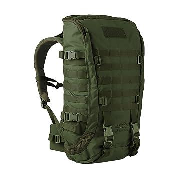 WiSPORT® ZIPPERFOX 25 litros Mochila | Militar | MOLLE | Daypack | Aire libre | Senderismo | Cordura, camuflaje:olive green: Amazon.es: Deportes y aire ...