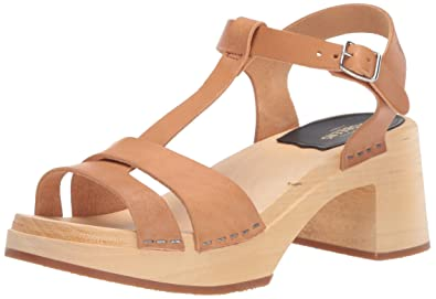 1f1fc5bde4e2e Amazon.com   swedish hasbeens Women's Birgit Heeled Sandal   Heeled ...