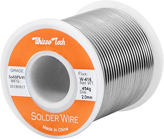 Solder Wire 50-100g Not Clean Tin Weldring 1mm Low Melt Flux Roll Reel Line