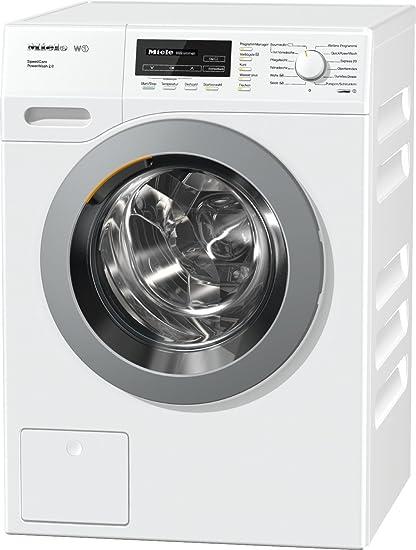 Miele WKF 311 WPS SpeedCare mit 8 kg Schontrommel/Weiß/QuickPowerWash für perfekt saubere Wäsche in unter 1 Stunde/18 Waschpr