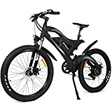 Addmotor HITHOT Power Mountain Electric Bikes Motor 500W 48V 26 inch Wheel Power Alloy Frame Mountain E-Bike 2017 H2 Electric Bicycle With Lithium-Ion Battery
