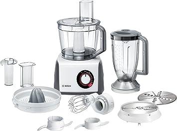 Bosch MCM62020 Robot da Cucina Compatto, Bianco/Grigio: Amazon.it ...
