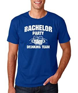 ee5fd3a9 Wedding Eve - Bachelor Party Drinking Team Funny Stag Gift Novelty Premium  Men's T-Shirt