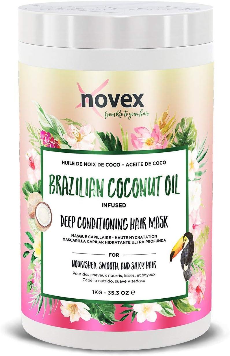Novex - Mascarilla para el Pelo con Aceite de Coco, 1 kg
