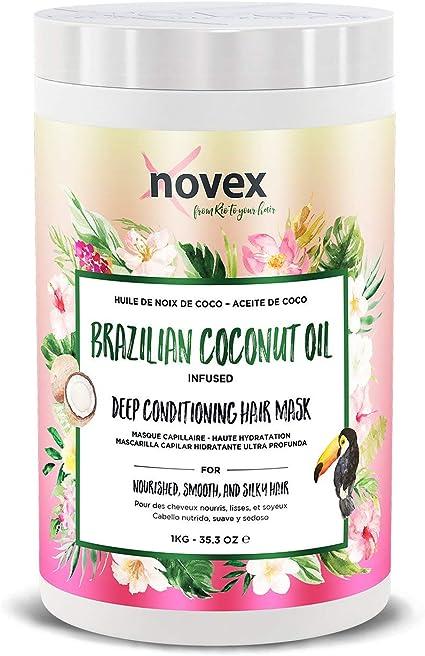 Oferta amazon: Novex - Mascarilla para el Pelo con Aceite de Coco, 1 kg