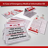 Amazon Com Myid Medical Wallet Card Emergency Information Ice