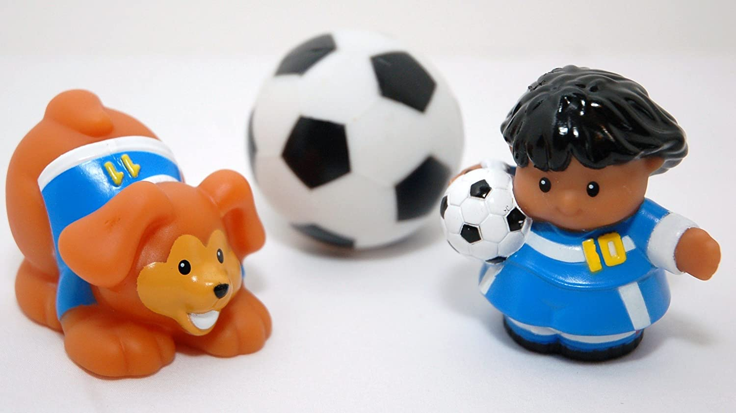 Little People Fisher Price Soccer Set by: Amazon.es: Juguetes y juegos