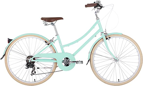BOBBIN Brownie Bicicleta Urbana, Mujer, Turquesa (st Ives Green), 33: Amazon.es: Deportes y aire libre