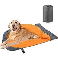 RYPET - Saco de dormir para perro, resistente al agua, cálido, con bolsa de almacenamiento, para uso en interiores…