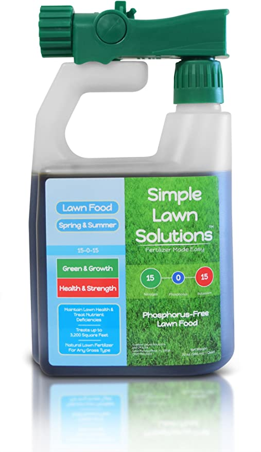 Superior Nitrogen & Potash Lawn Food Natural Liquid Fertilizer - Ultimate Liquid Fertilizer