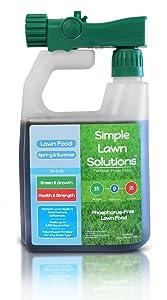 Simple Lawn Solutions Lawn Food Natural Liquid Fertilizer