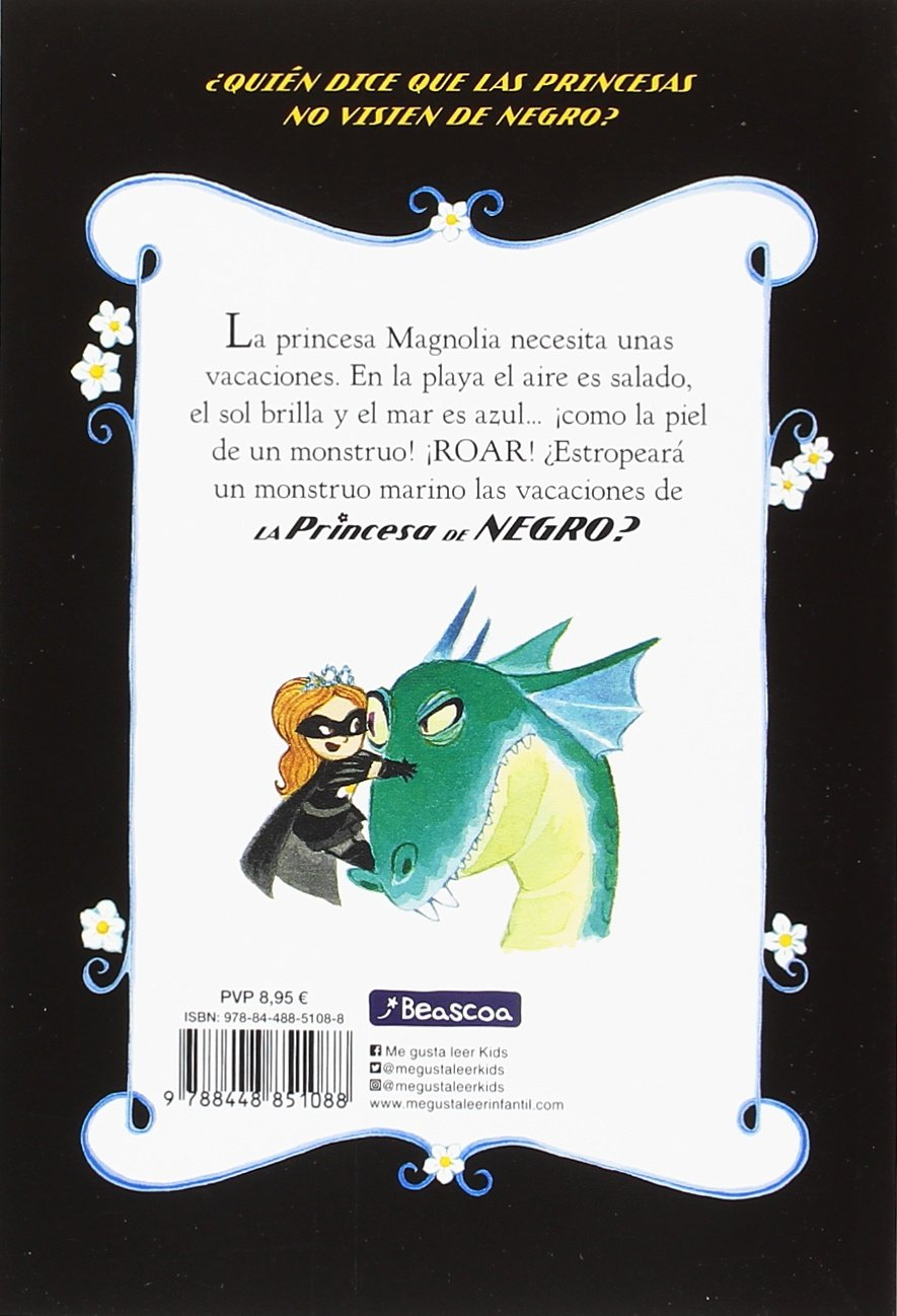 Amazon.com: La Princesa de Negro se va de vacaciones / The Princess in Black Takes a Vacation (La Princesa de Negro / The Princess in Black) (Spanish ...