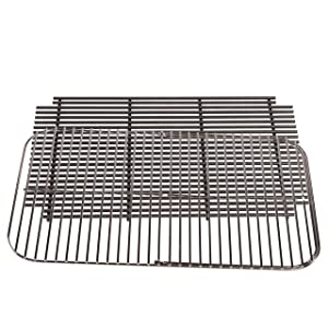 PK Grills PK 99010 Hinged Grid and Charcoal Grate, Nickel plated