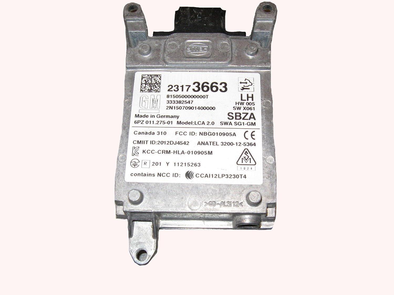 Amazon.com: GM Left Rear Blind Spot Control Module Sensor 23173663: Automotive