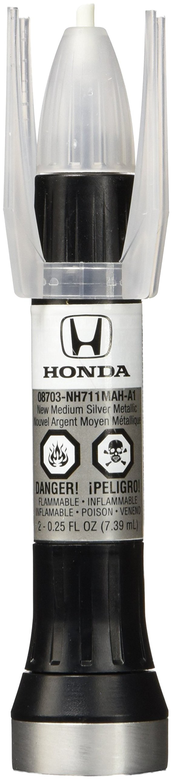 Genuine Honda (08703-NH711MAH-PN) Touch-Up Paint, Whistler Silver Metallic, Color Code: NH711M
