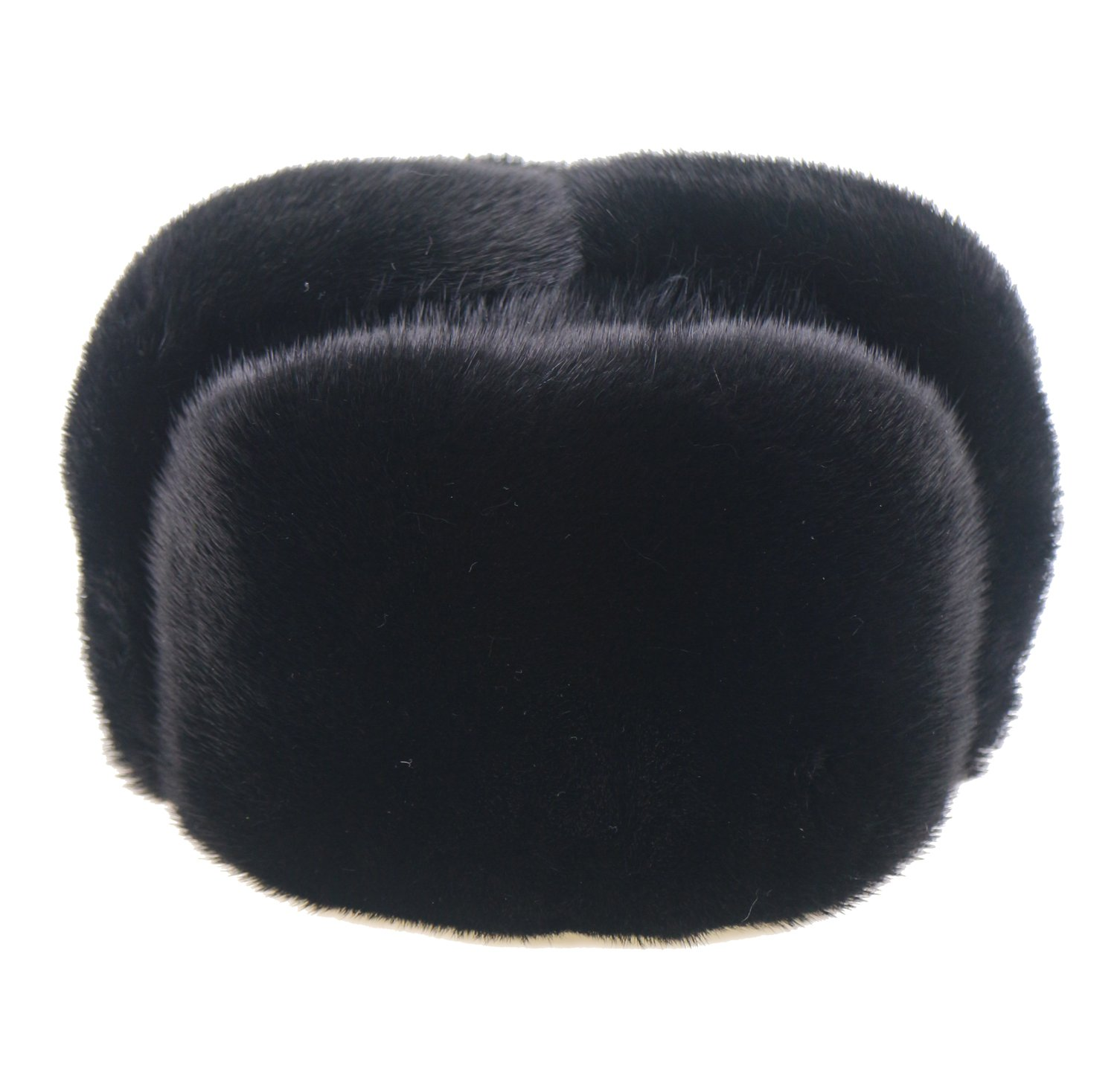 Ysting Men's Premium Mink Full Fur Russian Ushanka Trapper Hats