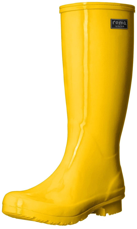 Roma Boots Women's Emma Classic Rain Boots B07193QNWX 9 B(M) US|Yellow
