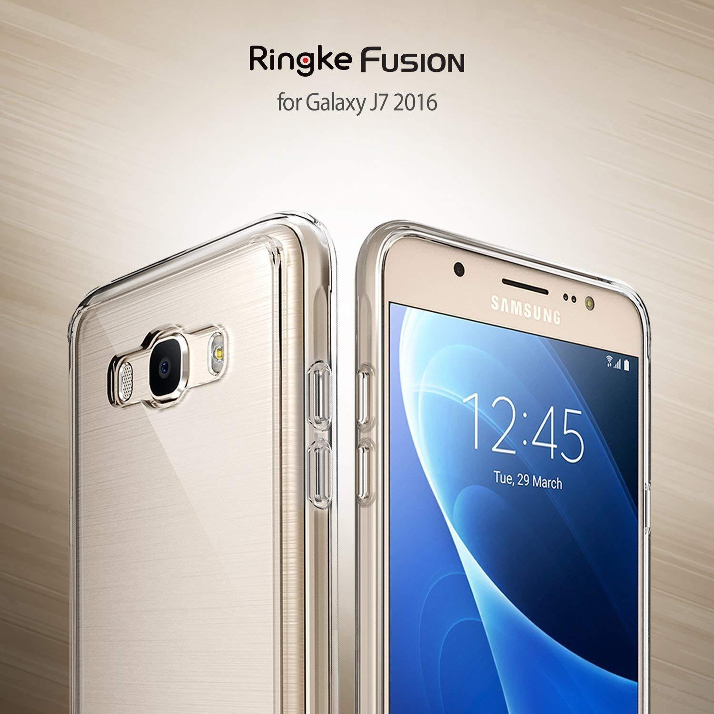 Ringke Fusion Diseñado para Funda Galaxy J7 2016 Cubierta Protectora - Clear