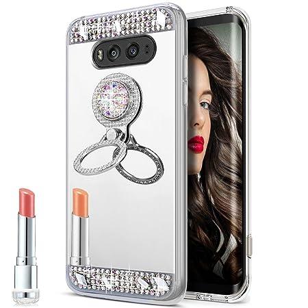 LG V20 móvil, LG V20 funda, LG V20 Case, ikasus® [Bling brillante ...