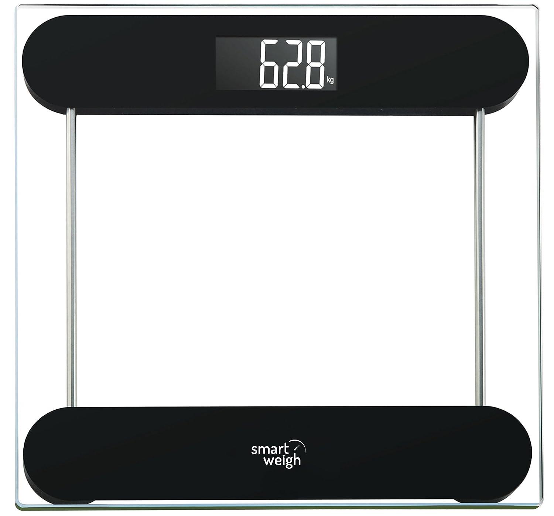 Amazon.com: Smart Weigh Precision Digital Vanity/Bathroom Scale ...