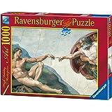 Ravensburger - 15540 - Puzzle - La création d'Adam - M. Ange - 1000 pièces