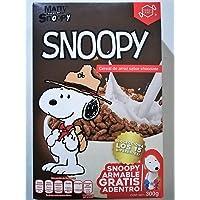 Snoopy Cereal de Arroz Sabor Chocolate 300 g Snoopy Armable Gratis Adentro De La Caja Colecciona Los 15 Diferentes
