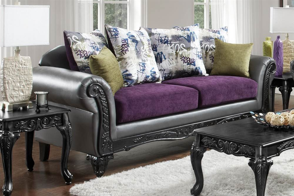 Amazon.com: Chelsea Home Upholstered Sofa in Renegade ...