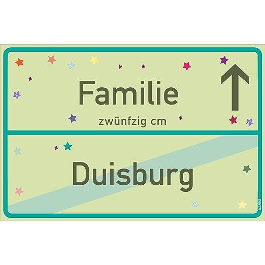 Cartel de familia de vanva Duisburgo, verde lima, familia ...