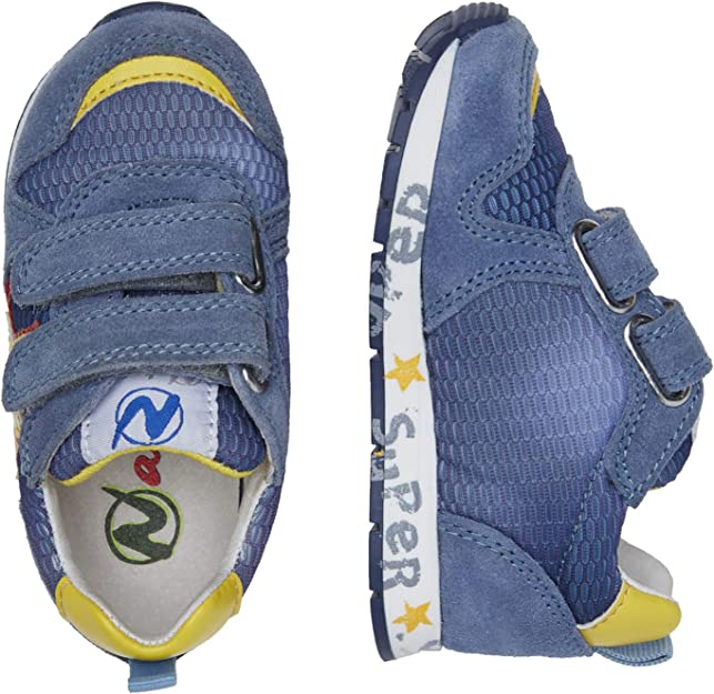 Naturino Pat VL.-Sneakers in Pelle e Rete