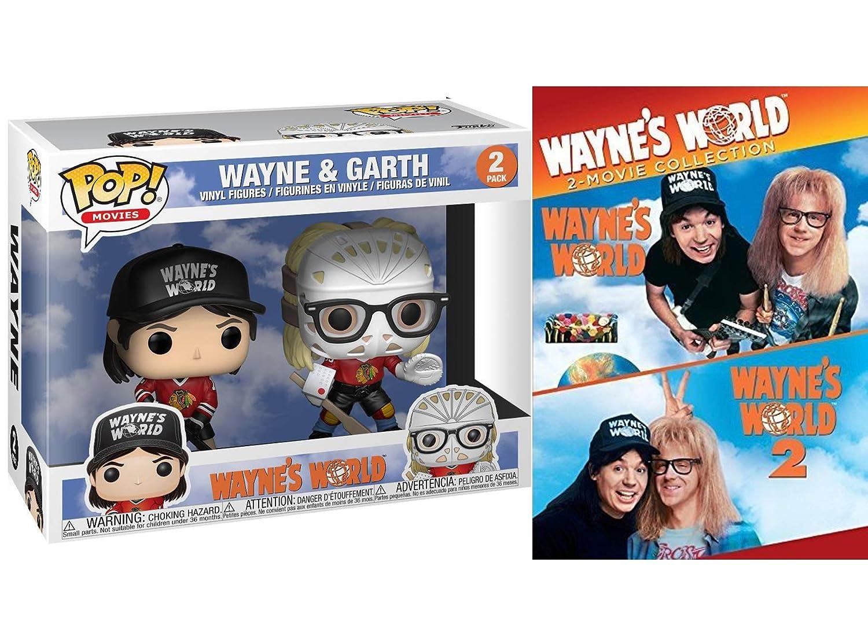 "Wayne/'s World Funko POP Movies Wayne Vinyl Figure 4/"" IN HAND"