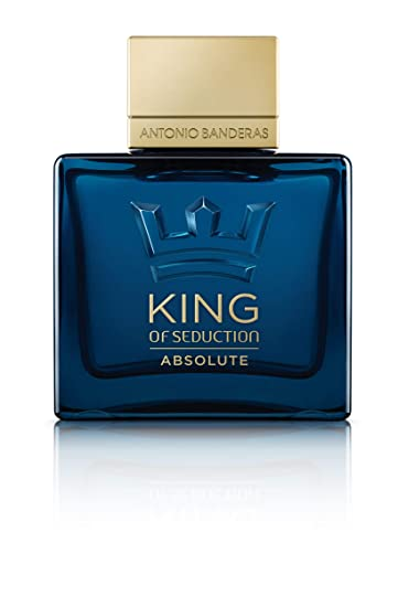 Antonio Banderas King of Seduction Absolute Eau de Toilette, 100ml Eau de Toilette at amazon