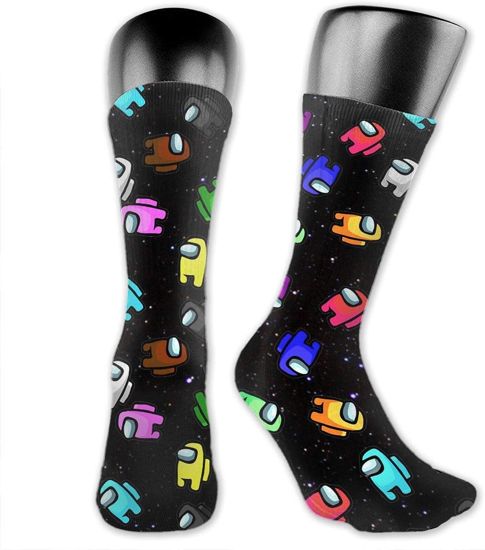 Among Us Crew Chaussettes unisexes Crew Chaussettes pour femme chaussettes amusantes et color/ées avec motif de dessin anim/é pour f/ête pour adultes et enfants