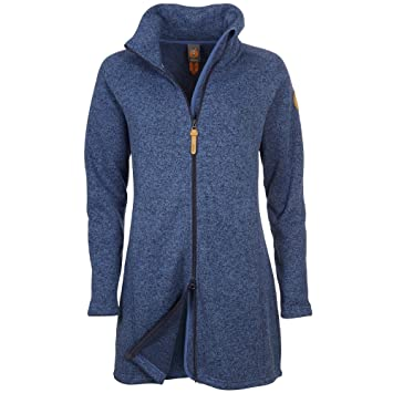 Fleece mantel blau