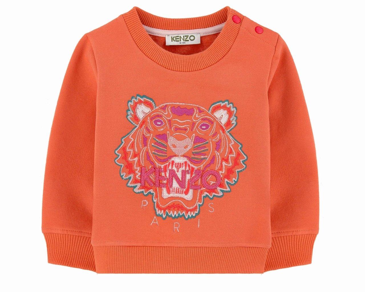 1fa65eb05 Kenzo Baby ORO KI15037 78 Tiger Jumper Orange: Amazon.co.uk: Baby