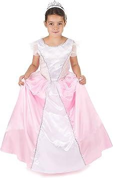Disfraz princesa niña rosa y blanco: Amazon.es: Juguetes y juegos