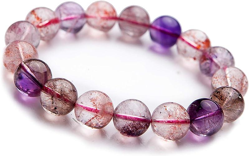 Pulsera de alimentación de piedras preciosas de cristal de cuarzo