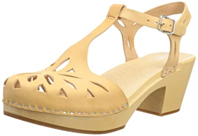 b014287e566c Image Unavailable. Image not available for. Color  swedish hasbeens Women s  Lacy Platform Sandal