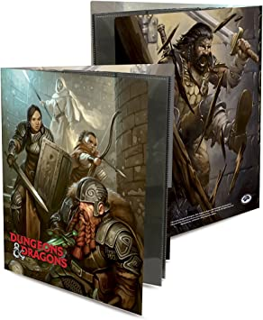 Officially Licensed Dungeons /& Dragons Tavern Brawl Character Folio