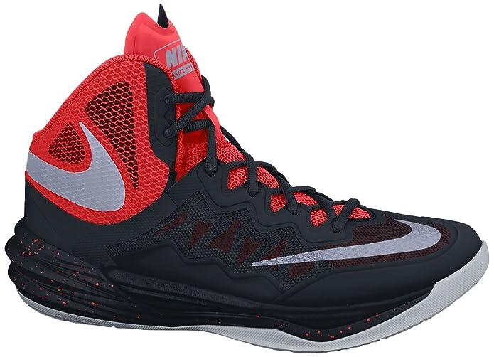 official photos 8edb8 5d525 Amazon.com   Nike Mens Prime Hype DF II Basketball Shoe Black Bright  Crimson Bright Mango Reflect Silver 10.5   Basketball