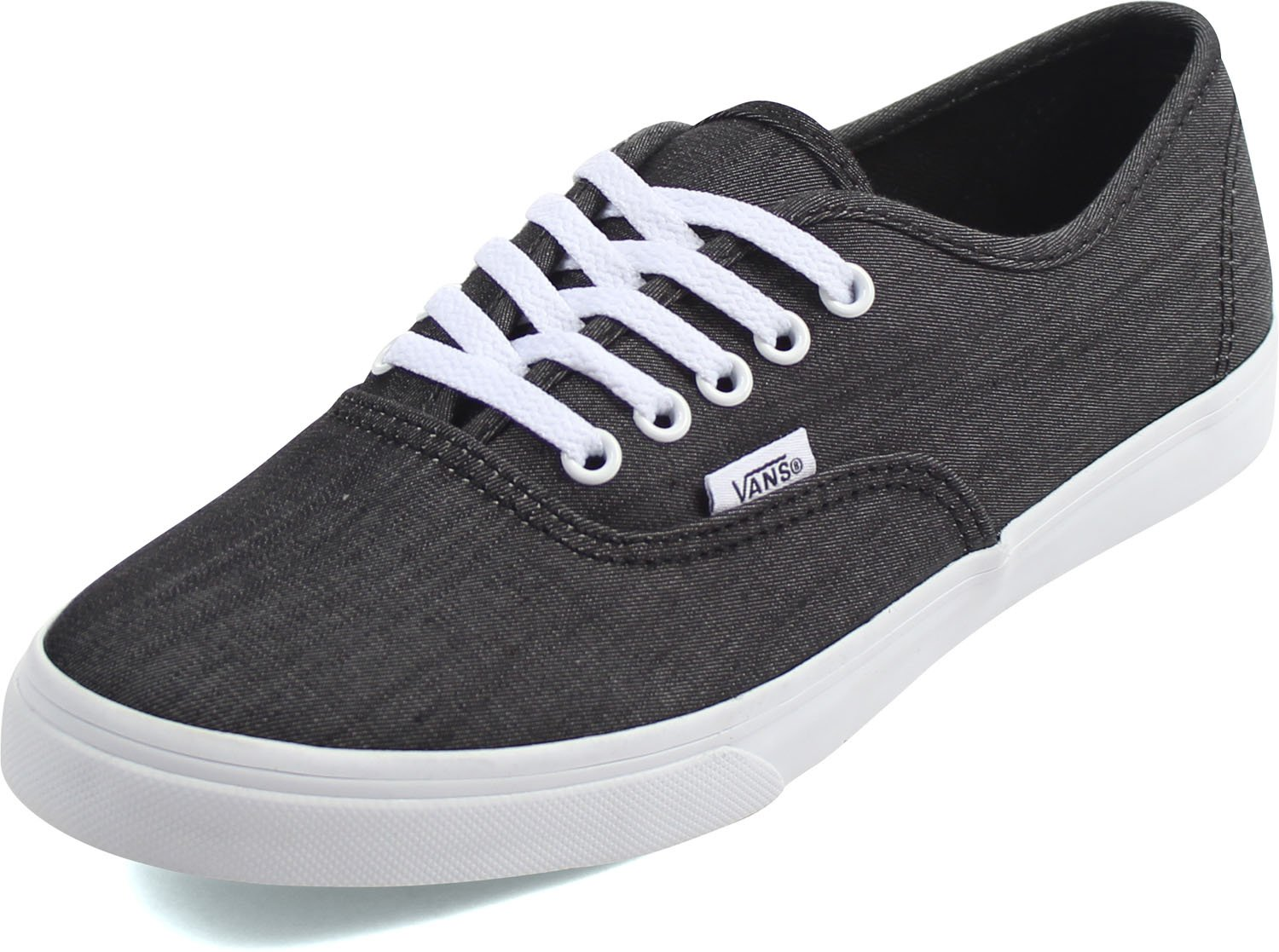 Vans Authentic B01I3Z638Q 7.5?B(M) US Women / 6 D(M) US Men|Shadow Stripe Black/True White