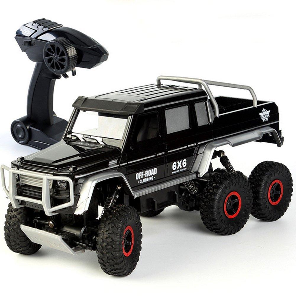 bienvenido a comprar Negro OOFAY RC Monster Truck Escala 1 1 1 11 A 6 Ruedas motrices máquinas con Control Remoto Fuera de Cocheretera con Mando DE 2.4 GHz Coche  mejor oferta